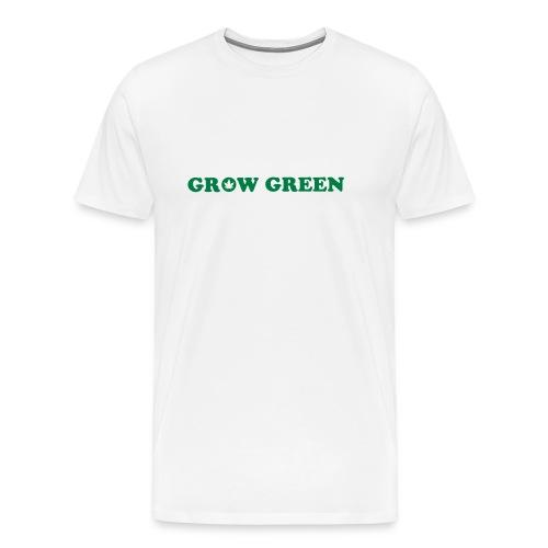 Grow Green Cannabis - Men's Premium T-Shirt