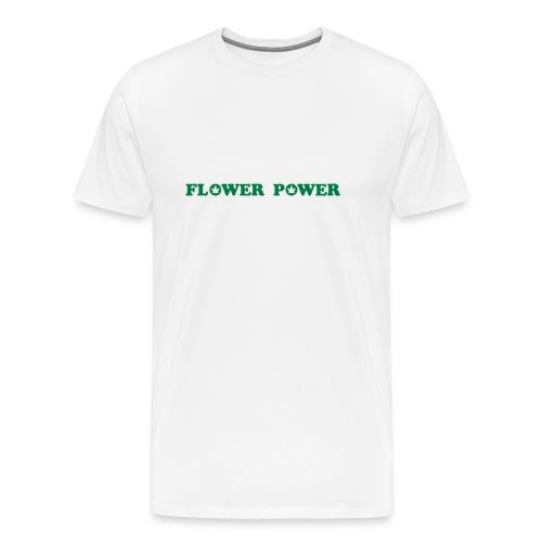 Flower Power Cannabis v2 - Men's Premium T-Shirt