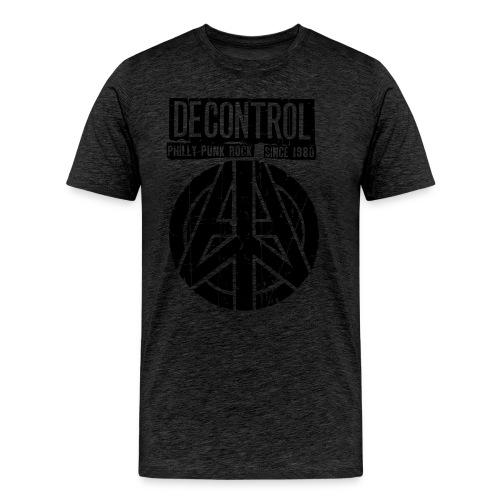 Decontrol Old School T - Logo back and front - Men's Premium T-Shirt