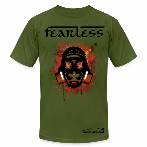 Woman Gas Mask Feerless - Men's  Jersey T-Shirt