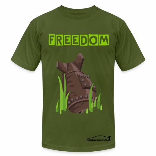 Freedom Bomb - Men's  Jersey T-Shirt