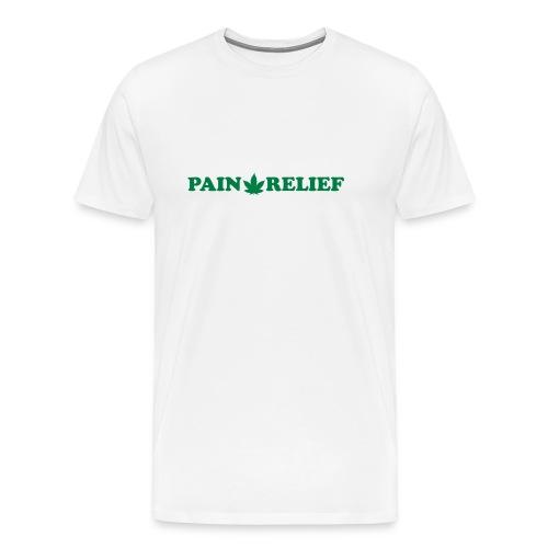 Pain Relief Medical Marijuana - Men's Premium T-Shirt