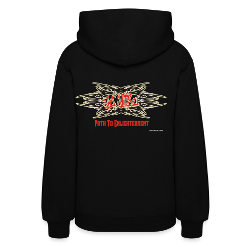 Tuf Chick Women's Jiu Jitsu Path To Enlightenment Graffiti Hoodie - Women's Hoodie