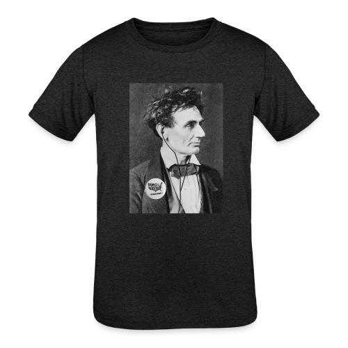 Kid's Honest Abe Shirt - Kids' Tri-Blend T-Shirt