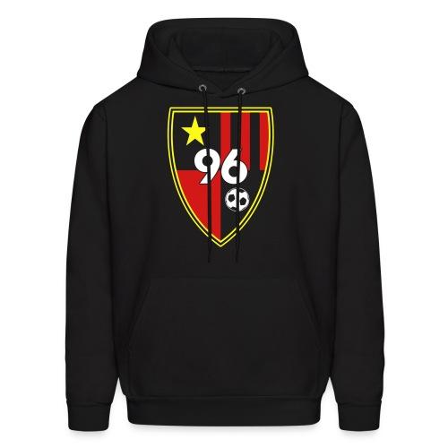96 – Black Men's Hoodie - Men's Hoodie