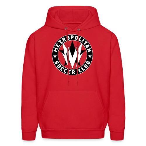 Metro SC - Men's Red Hoodie - Men's Hoodie