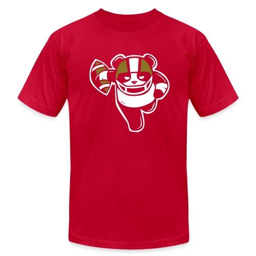 Football Panda Unisex T-shirt - Men's Fine Jersey T-Shirt