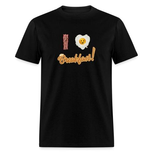 I Heart Breakfast | Men's T-shirt - Men's T-Shirt