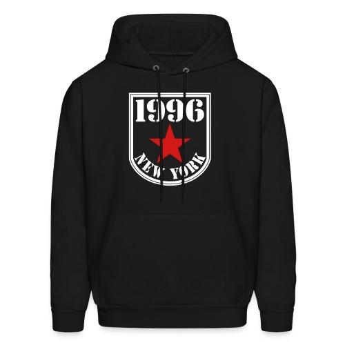 Black 1996 NY Love the Club Hate the Brand Men's Hoodie - Men's Hoodie