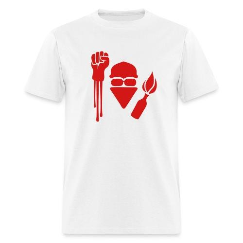 Anarchist Salute T-Shirt - Men's T-Shirt