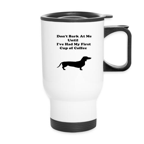 Funny Dog Travel Coffee/Tea  Mug - Travel Mug