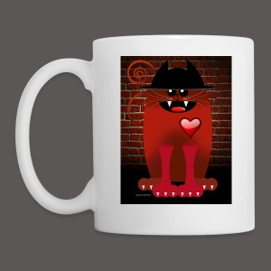 BIG RED CAT - Coffee/Tea Mug