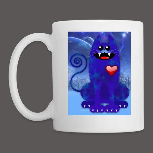 BIG BLUE CAT - Coffee/Tea Mug
