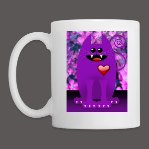 PURPLE CAT - Coffee/Tea Mug