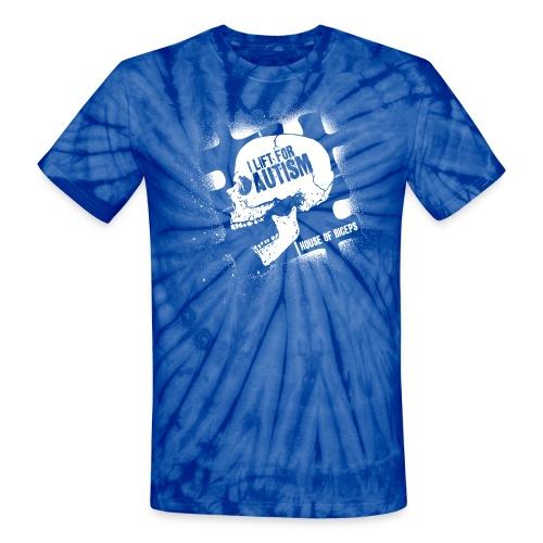 Skull Biceps - Unisex Tie Dye T-Shirt