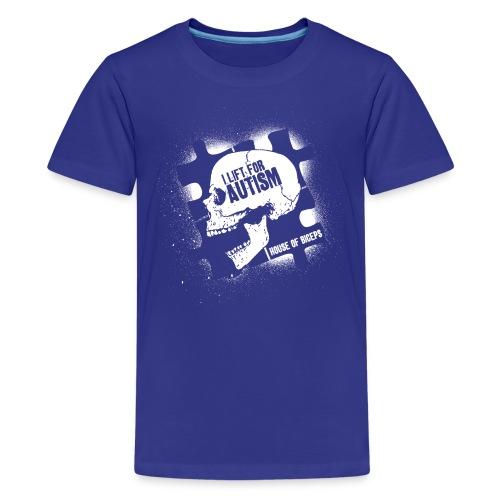Skull Biceps - Kids' Premium T-Shirt