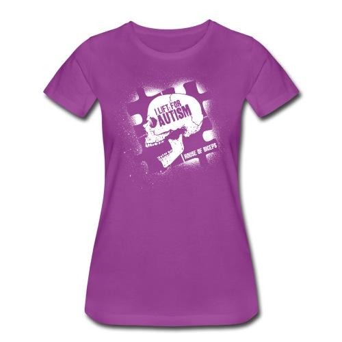 Skull Biceps - Women's Premium T-Shirt