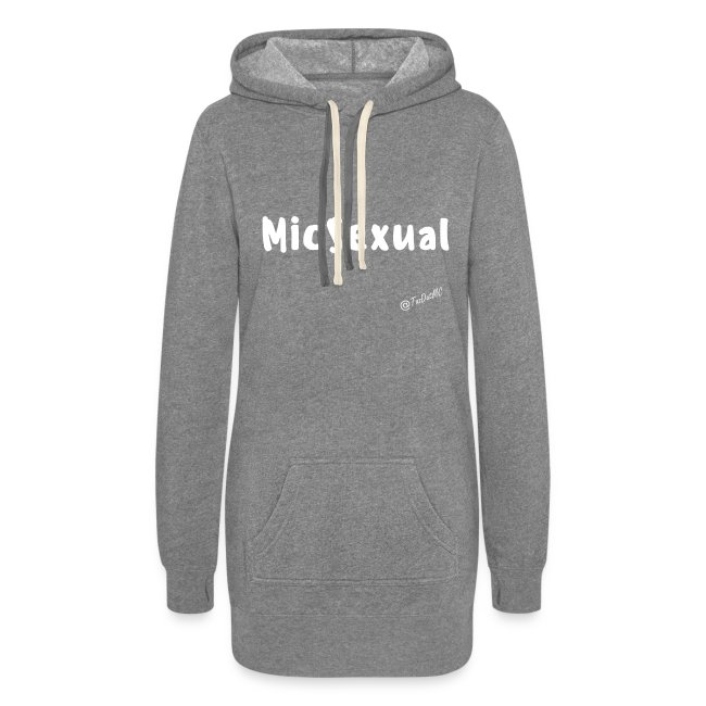 MicSexual Women's Hoodie Dress