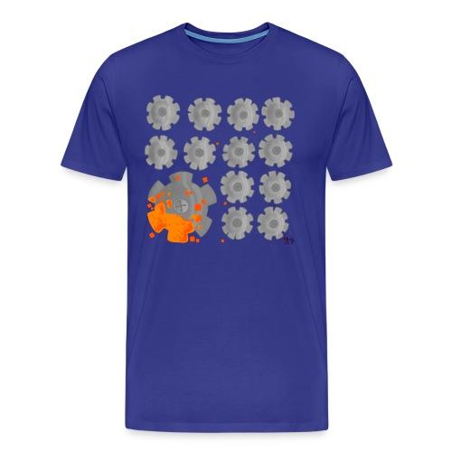 PixelRustMuzic Men's Tee - Men's Premium T-Shirt