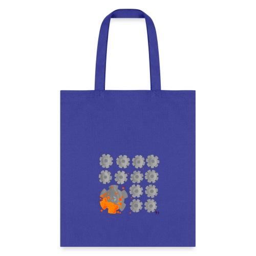 PixelRustMuzic Tote Bag - Tote Bag