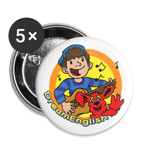 BUTTONS: MATT AND TUNES - Large Buttons