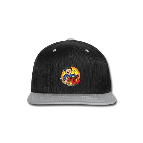 ADULT BASEBALL CAP: MATT AND TUNES - Snap-back Baseball Cap