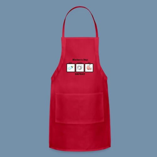 Pictogram of a New Mother's Day - Adjustable Apron