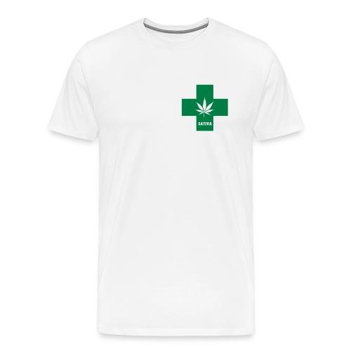 Medical Marijuana Green Cross Sativa - Men's Premium T-Shirt