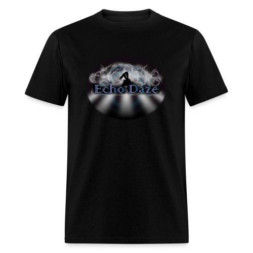 Echo Daze_Oval - Men's T-Shirt