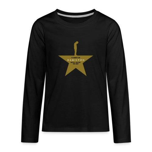 Hamilton Kid's t-shirt - humorous - Kids' Premium Long Sleeve T-Shirt