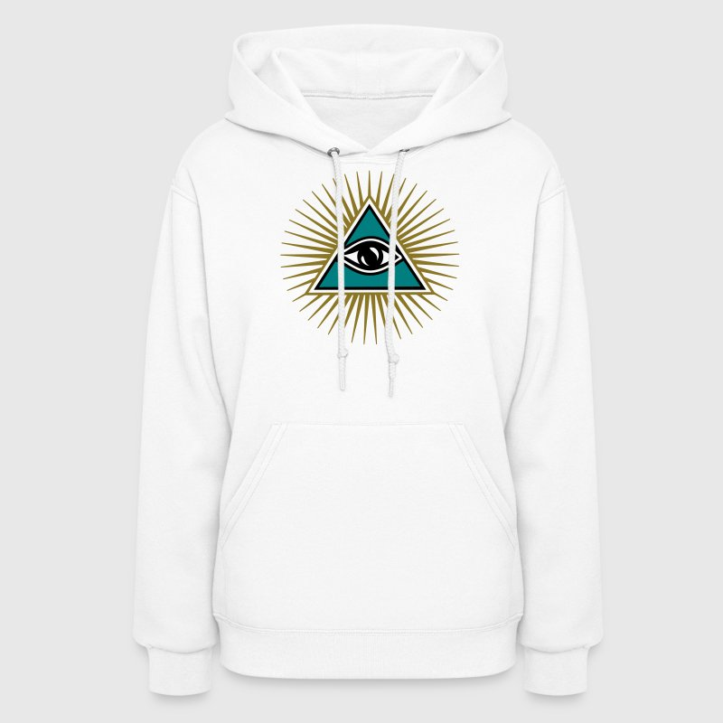 all seeing eye 1-3 colors - symbol omniscience Hoodies - Women's Hoodie