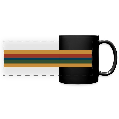 Doctor Who 13th Doctor Stripe - Full Color Panoramic Mug