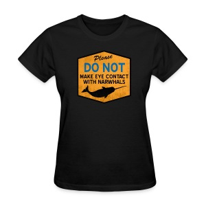 Eye Contact Narwhals (Vintage) - Women's T-Shirt