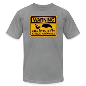 Attack Narwhals - Men's Fine Jersey T-Shirt