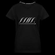 T-Shirts ~ Women's V-Neck T-Shirt ~ WingBeat-Silver Glitz