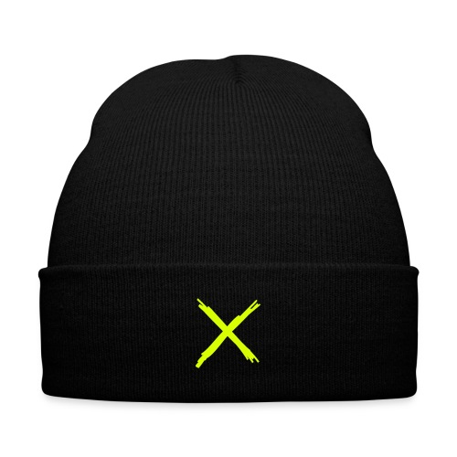 By Any Means (Neon) - Knit Cap with Cuff Print