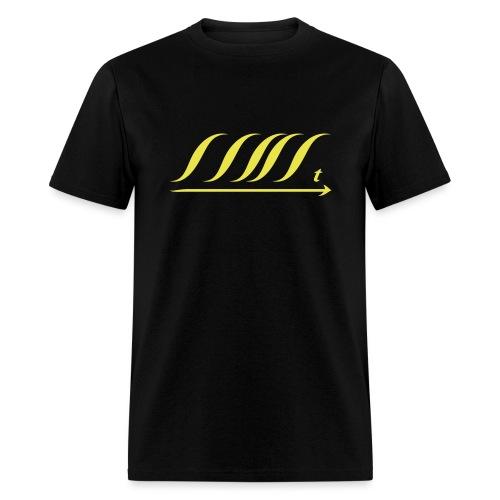 WingBeat-Yellow - Men's T-Shirt