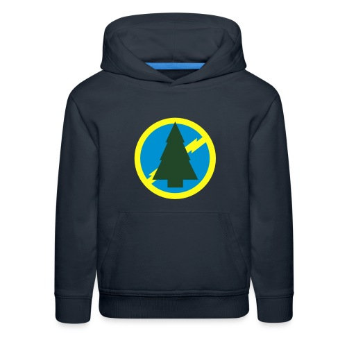 Premium Kids Blue Spruce Hoodie - Kids' Premium Hoodie