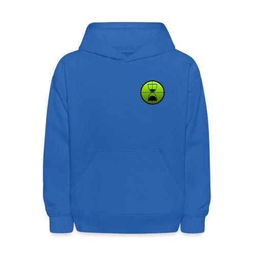 TimeShot Badge Logo - Kids' Hoodie