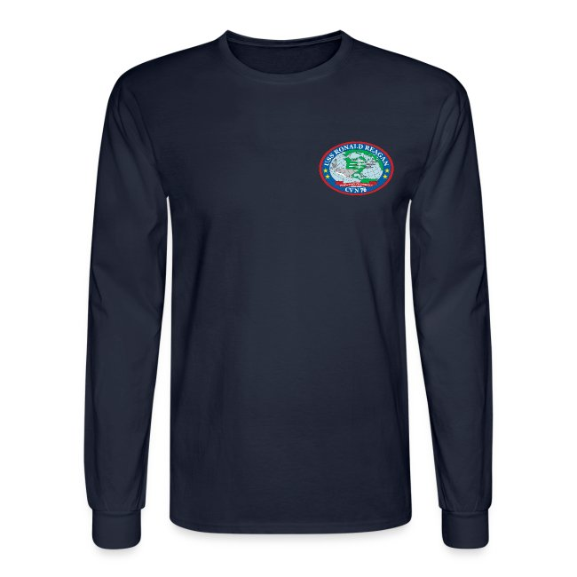 USS RONALD REAGAN CVN-76 WESTPAC 2017 LONG SLEEVE