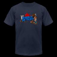 T-Shirts ~ Men's T-Shirt by American Apparel ~ Benja T-Shirt by American Apparel (M)