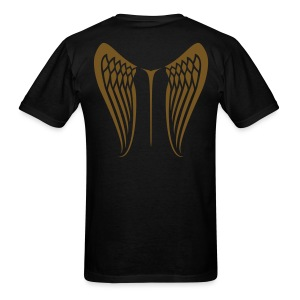 WingBeat-Gold Glitz - Men's T-Shirt