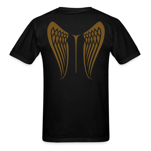 WingBeat-Gold Glitz - Men's T-Shirt