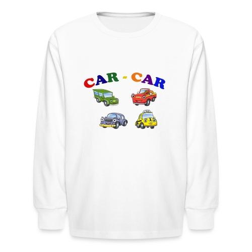 Car-Car - Kids' Long Sleeve T-Shirt