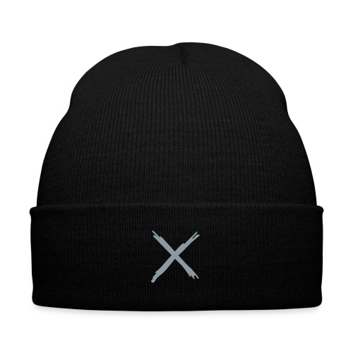 By Any Means (Platinum) - Knit Cap with Cuff Print