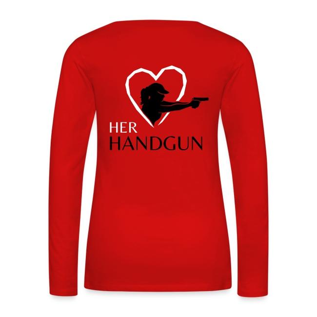 Women's Long Sleeve #ShootLikeAGirl Shirt