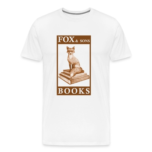 Fox Books Tee - Classic - Men's Premium T-Shirt