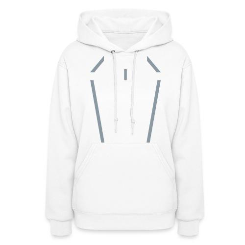 SIREN women's disc hoodie (silver) - Women's Hoodie
