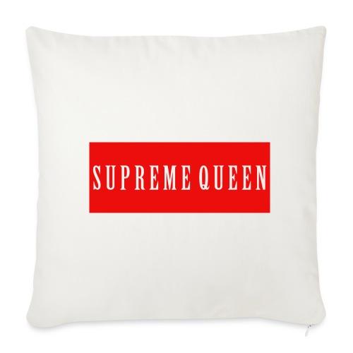 """Supreme Queen Pillow - Throw Pillow Cover 18"""" x 18"""""""