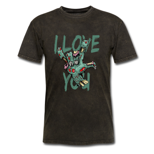 I love you Zombie - Men's T-Shirt